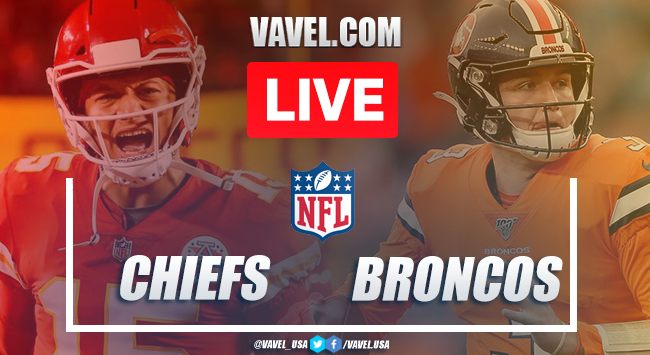 Chiefs vs Broncos: LIVE Stream Online and NFL Updates (43-16)