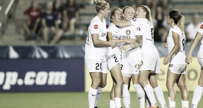 Brittany Ratcliffe scored to help the Utah Royals win 1-0 on June 16, 2018 in Cary, North Carolina | Photo:NWSLSoccer.com
