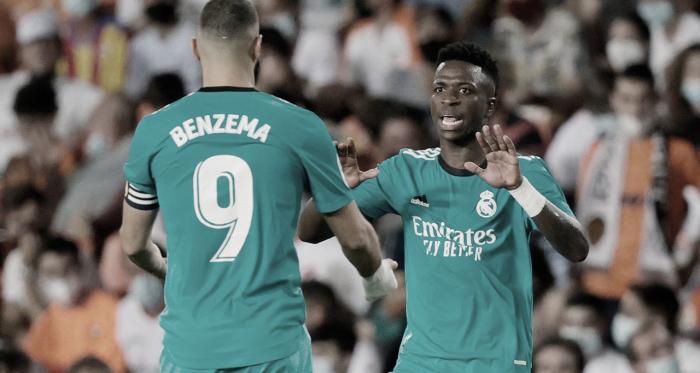 Análisis post partido: Frenesí de Benzema y Vinícius