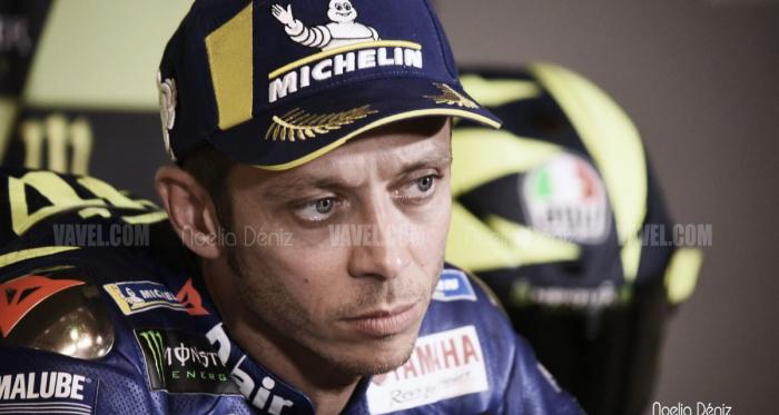 Valentino Rossi en la rueda de prensa post carrera del Gran Premio de Catalunya | Noelia Déniz (Vavel España)