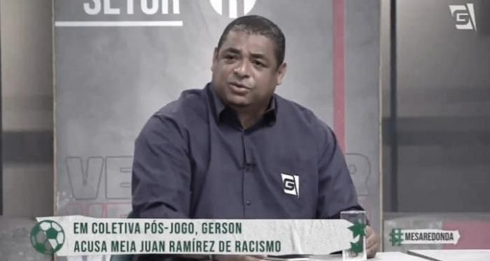 "Vampeta minimiza denúncia de racismo de Gerson: ""Muito mimimi"""
