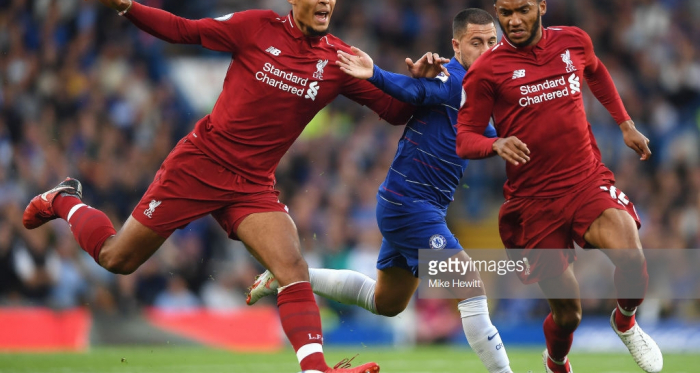 Virgil van Dijk, currently Liverpool's third choice captain, has formed an impressive partnership with Joe Gomez this season (Getty Images)