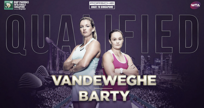 Vandeweghe and Barty, the US Open and Miami Open champions, will vie for glory in Singapore | Photo: WTA