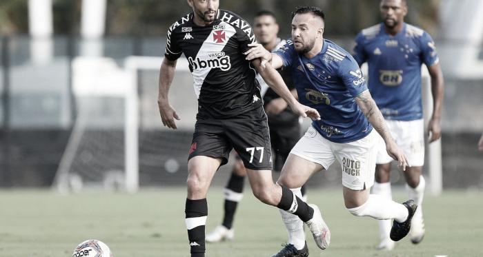 Vasco sai na frente, mas Cruzeiro arranca empate no fim