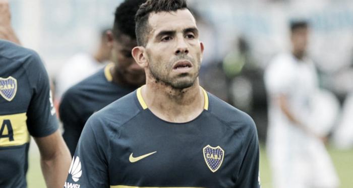 No está feliz. Tévez sufrió la última etapa de Guillermo en Boca y lo hizo saber hoy en NTP. Foto: Clarín.