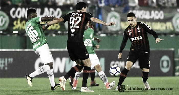 Pablo e Raphael Veiga são os principais nomes do Atlético nessa temporada (Divulgação / Atlético-PR)
