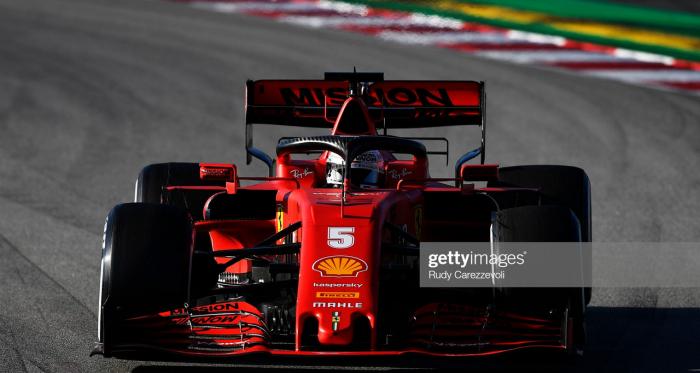 Vettel fastest on penultimate day of testing