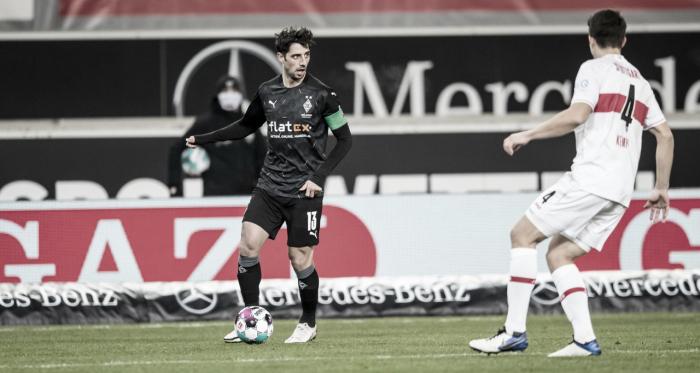 Stuttgart converte pênalti no fim e busca empate diante do Borussia Mönchengladbach