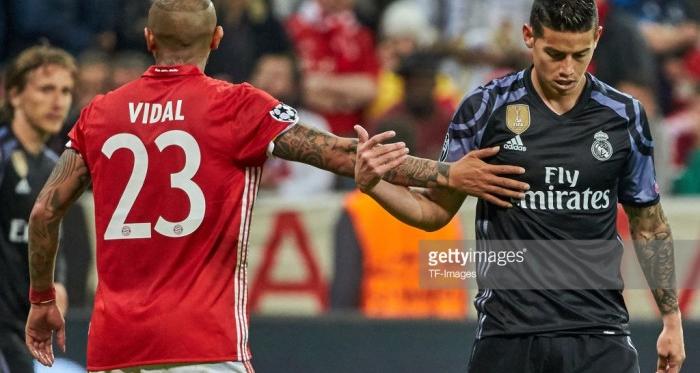 Oficial: James Rodriguez é reforço do Bayern Munique