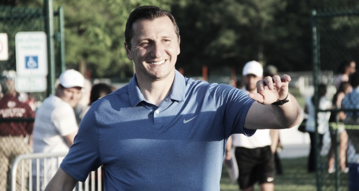 Vlatko Andonovski, the two-time NWSL championship-winning coach with FC Kansas City, has been hired to lead the Seattle Reign | Source: Emily Kesel - VAVEL USA