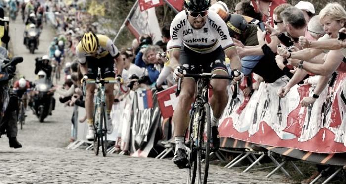 Ataque decisivo de Peter Sagan na edição do ano passado // Fonte: Cycling News