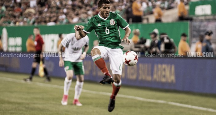 Jonathan Dos Santos has helped continue Mexico along during qualifying. Photo: Catalina Fragoso - VAVEL USA