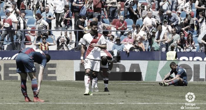 Jugadores en el final del partido | Fotografía: La Liga