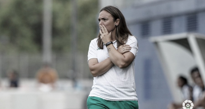 María Pry en el encuentro ante el Espanyol | Foto: LaLiga