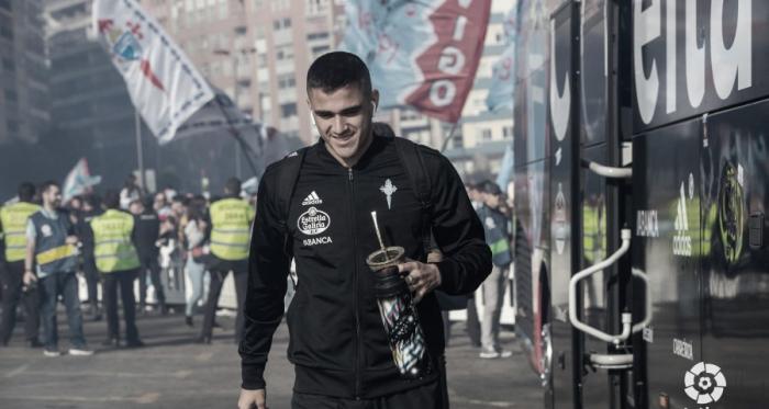 Maxi antes de jugar el último partido de la temporada. | Fuente: LaLiga