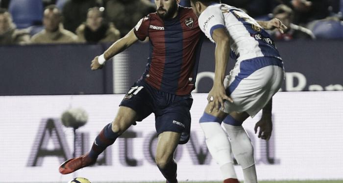 Morales en el empate a cero de la pasada temporada / Fuente: LaLiga.es