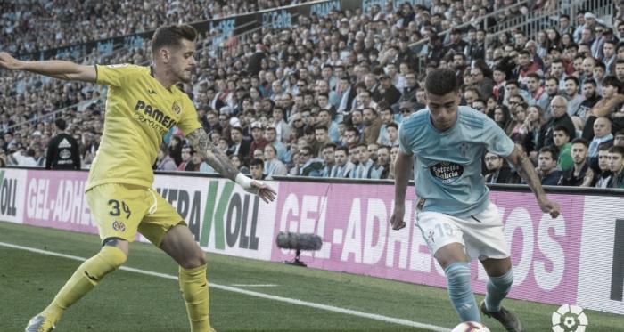 Lucas Olaza en su debut frente al Villarreal CF | Fuente: LaLiga