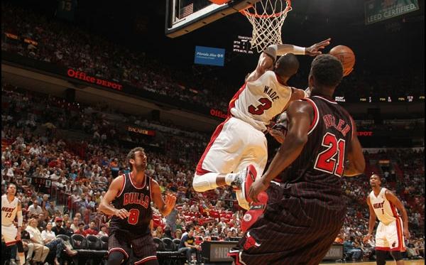 Heat reencontra Bulls e vence com facilidade