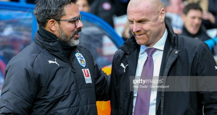 David Wagner welcomes Sean Dyche to Huddersfield