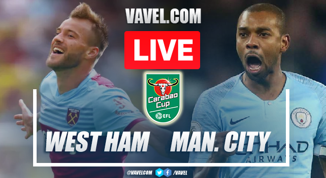 West Ham vs Manchester City: Live Stream, How to Watch on TV and Score Updates in Carabao Cup
