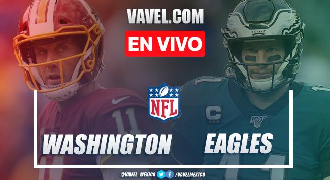 Resumen y Touchdowns del Washington Football Team 20-14 Philadelphia, en Semana 17 NFL