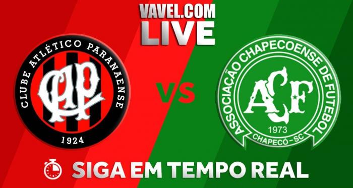 Resultado Atlético-PRe Chapecoense no Brasileirão (5-1)
