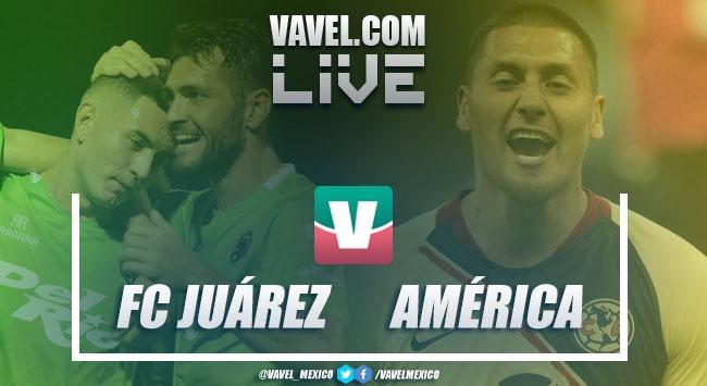 FC Juárez vs América en vivo online en FINAL Copa MX 2019 (0-1)