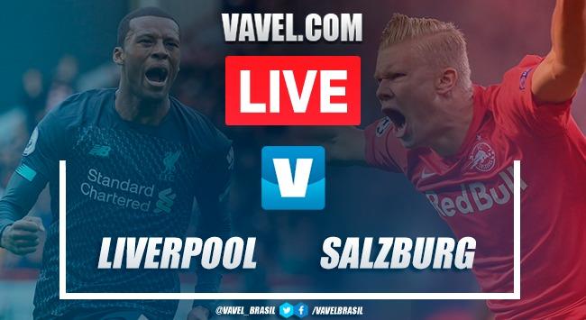 Gols e melhores momentos Liverpool 4x3 Salzburg pela Champions League