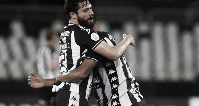 Botafogo vence Avaí e respira no Campeonato (Foto/ Reprodução: Botafogo)