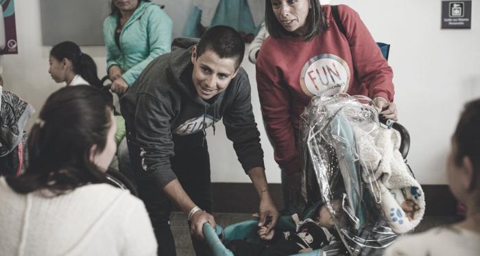Esteban Chaves y su Fundación promueven la inclusión social