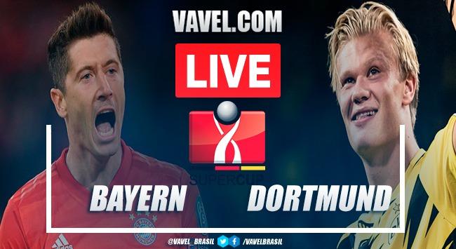 Gols e melhores momentos de Bayern x Borussia Dortmund na Supercopa da Alemanha (3-2)