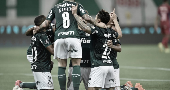 Palmeiras goleia Tigre, quebra sequência ruim e avança com melhor campanha