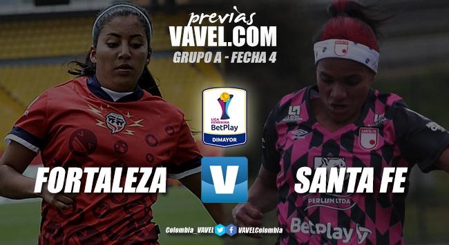 Previa Fortaleza vs Independiente Santa Fe: duelo entre el segundo y colero del grupo B