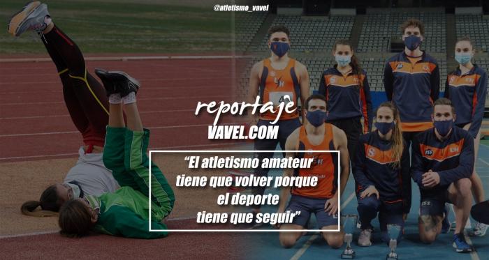 """Reportaje. """"El atletismo amateur tiene que volver porque el deporte tiene que seguir"""""""