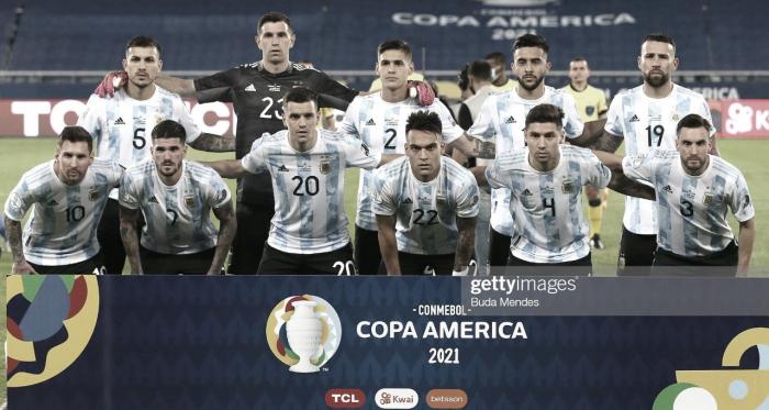 El uno por uno de la Selección Argentina versus Chile