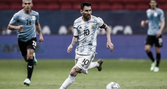 Uruguay no puede detener a Messi