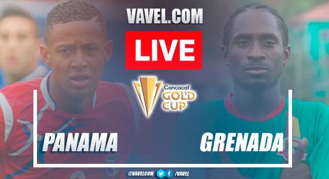 Goals and highlights:Panama 3-1 Grenadain Gold Cup 2021