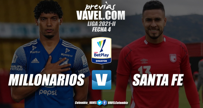 Previa Millonarios vs Santa Fe: una nueva historia en 'El Campín'