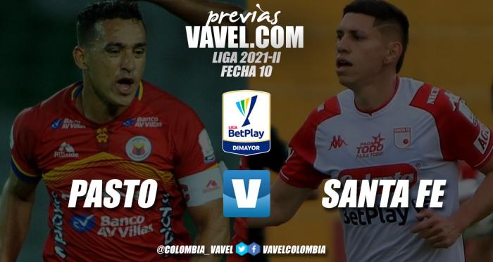 Previa Deportivo Pasto vs. Independiente Santa Fe: duelo de necesitados en el Departamental