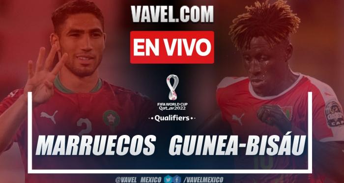 Resumen y goles: Marruecos 5-0 Guinea-Bisáu en Eliminatorias africanas