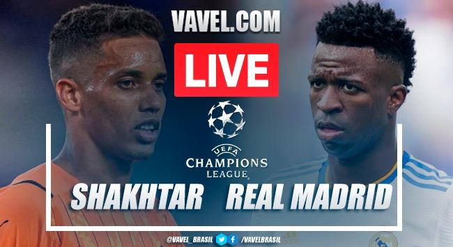 Gols e melhores momentos de Shakhtar Donetsk x Real Madrid (0-5)