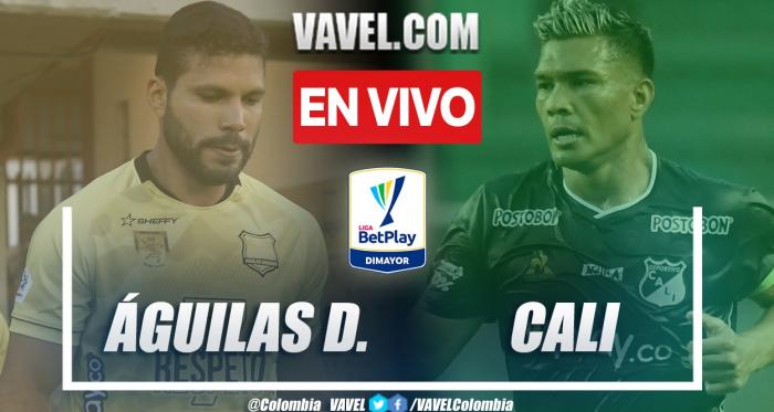 Resumen Águilas Doradas (1-2) Deportivo Cali por la fecha 15 de la Liga BetPlay 2021-II