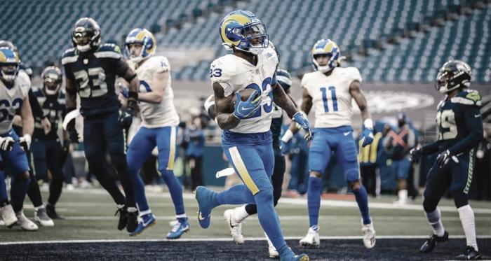 Los Rams derrotan a Seattle y avanzan a la Ronda Divisional