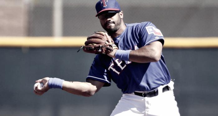 Wilson en un entrenamiento con los Rangers | Foto: Seattle Seahawks