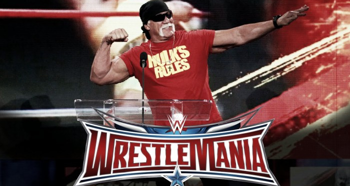 Hulk Hogan was expected to be at WrestleMania 32 before his racial remarks became publicly known (image. prowrestling.com)
