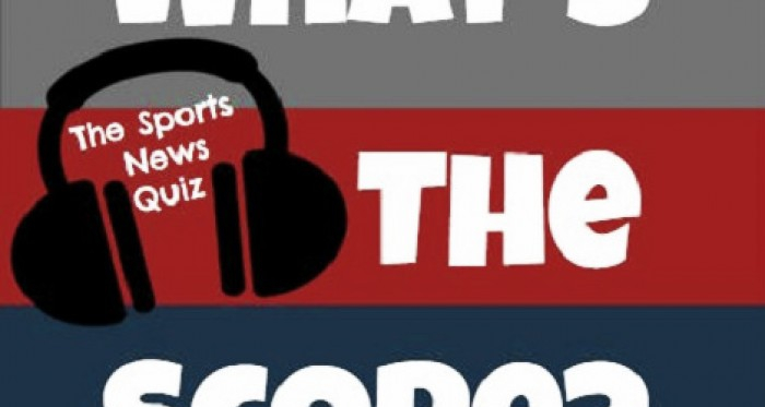 Image: What's the Score? The Sports News Quiz Logo