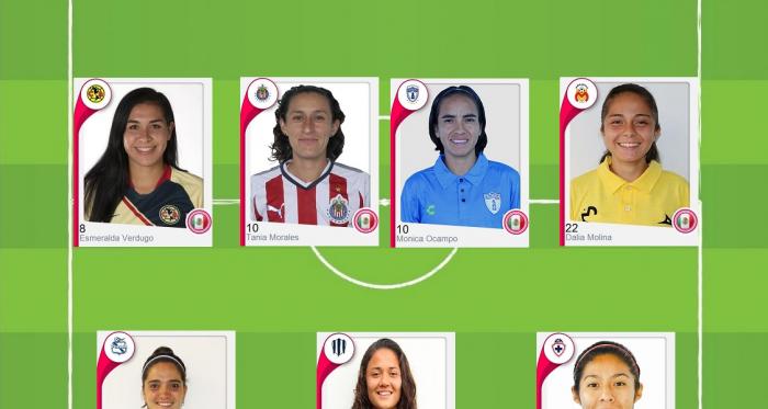 Equipo de la semana de Liga MX Femenil: jornada 9 del Clausura 2019