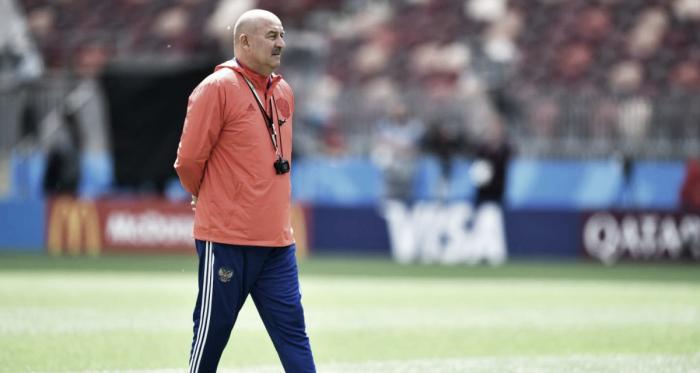 """Cherchésov: """"Espero que los juegos más importantes estén por venir""""   Foto: FIFA.com"""