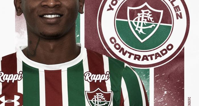Fluminense anuncia contratação do atacante colombiano Yony González