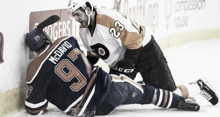 Manning ha sido el némesis en la corta carrera de McDavid. NHL.com.